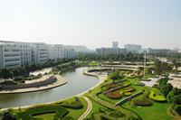 清潭湾与绿化