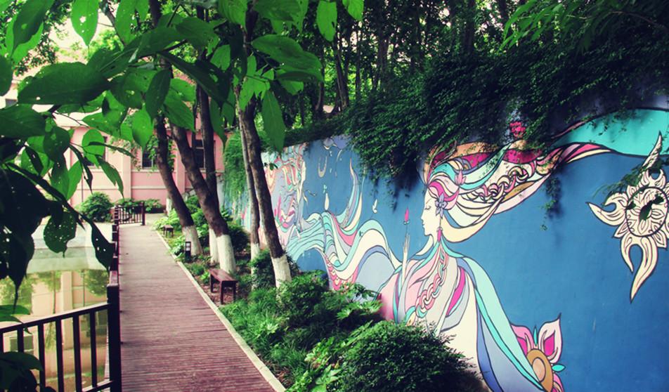 手工彩绘墙