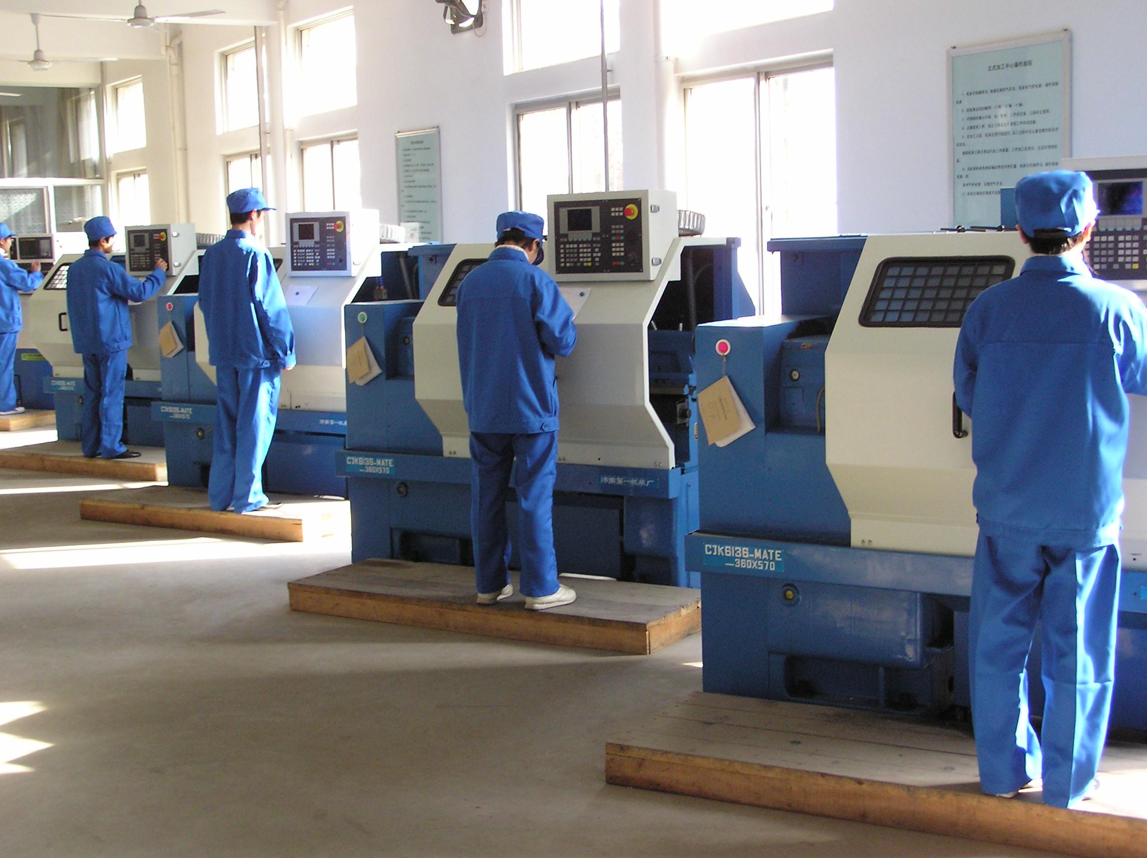 数控成型机实验室