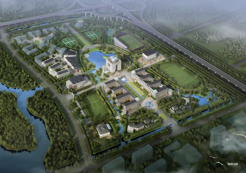 新校区设计效果总览