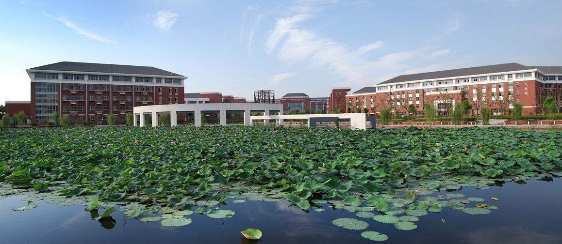 校园景观--珍珠湖